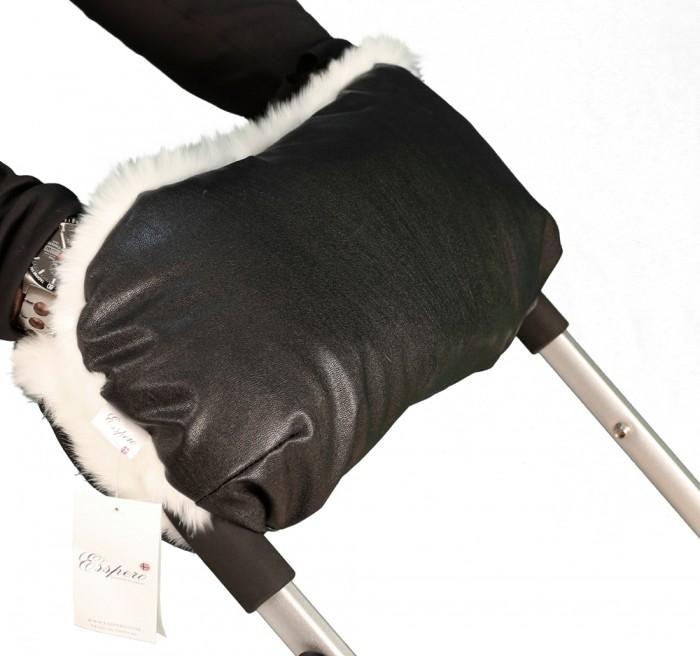 муфты для рук esspero муфта для рук на коляску gentle leatherette Муфты для рук Esspero Муфта для рук на коляску LIT Leatherette