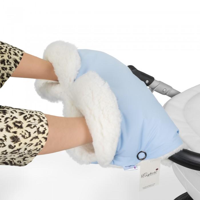 муфты для рук esspero муфта для рук на коляску gentle leatherette Муфты для рук Esspero Муфта для рук на коляску Soft Fur Lux