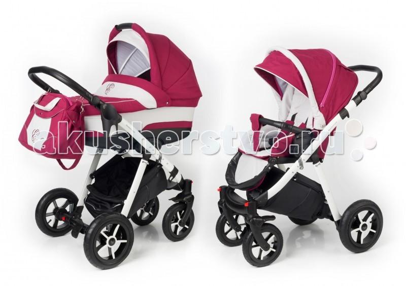 Коляски 2 в 1 Esspero Newborn Lux 2 в 1 шасси White москитные сетки esspero canopy lux