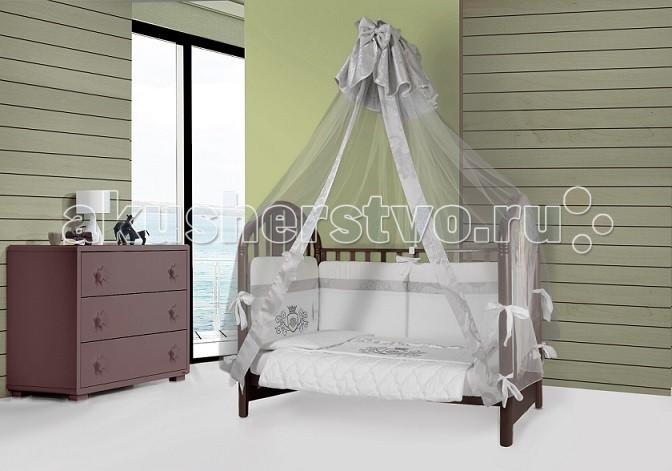 Картинка для Комплект в кроватку Esspero Ribbon Crown (6 предметов)