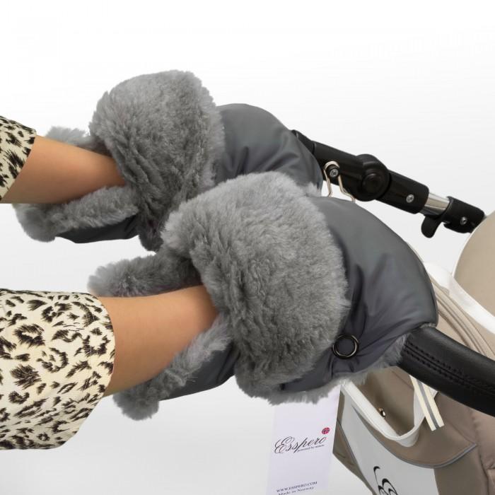 Муфты для рук Esspero Рукавички-муфта для коляски Christoffer муфты для рук esspero муфта рукавички для коляски gretta