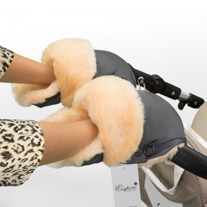 Муфты для рук Esspero Рукавички-муфта Oskar для коляски муфты для рук esspero муфта рукавички для коляски gretta