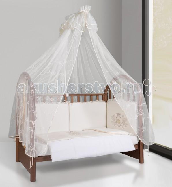 Постельные принадлежности , Комплекты в кроватку Esspero Сrown 120х60 (6 предметов) арт: 27556 -  Комплекты в кроватку