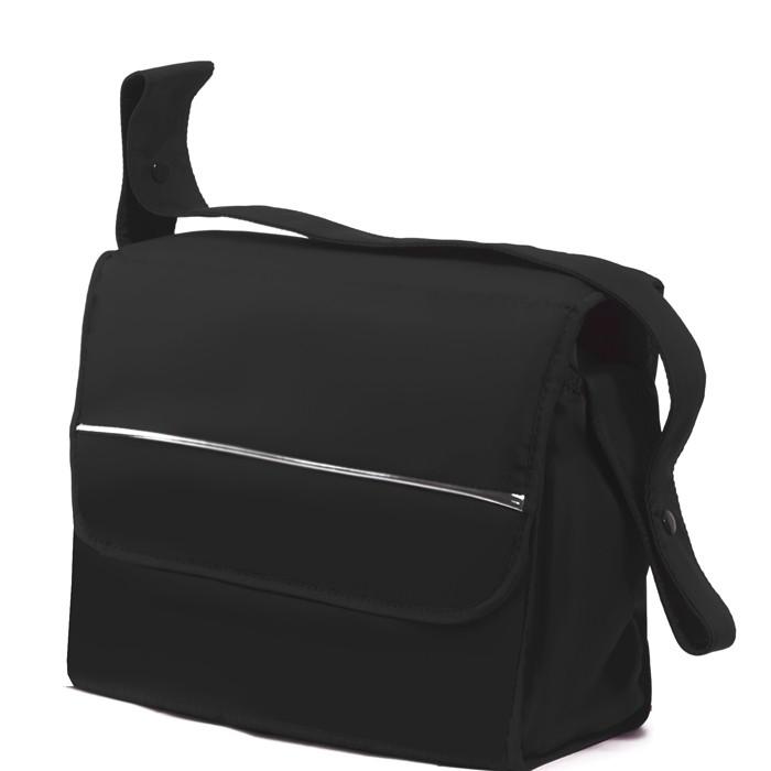 Esspero Сумка для коляски BagСумка для коляски BagСумка Esspero Bag универсальная сумка для колясок. Элегантная форма и внешность, повышенная функциональность, а также удобство использования сумки Esspero Bag сделают Ваши прогулки и походы намного приятнее.  Кнопки для фиксации на ручке коляски расположены удобно на плечевом ремне таким образом, что содержимое сумки будет у Вас под рукой в случае необходимости.   Эту сумку Вы сможете пристегнуть как к коляске-люльке с цельной ручкой, так и к прогулочной коляске. Очень удобная, она прослужит Вам долго!  Характеристики: имеются кнопки фиксации на ручку коляски на плечевом ремне двусторонний пеленальный матрасик в комплекте непромокаемая ткань внешнего покрытия сумки подходит для любой коляски размеры 44 х 15 х 32 см<br>