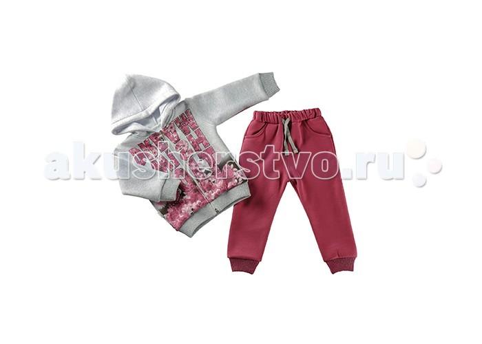 Детская одежда , Комплекты детской одежды Estella Комплект (Толстовка, брюки) для девочки 544 арт: 411874 -  Комплекты детской одежды