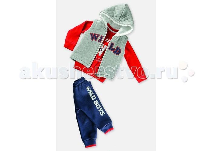 Детская одежда , Комплекты детской одежды Estella Комплект (Толстовка, водолазка, брюки) для мальчика 614 арт: 411929 -  Комплекты детской одежды