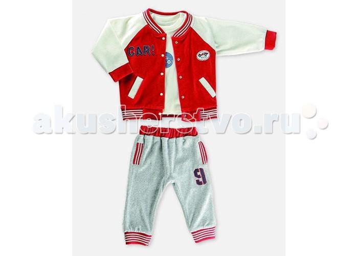 Детская одежда , Комплекты детской одежды Estella Комплект (Толстовка, водолазка, брюки) для мальчика 620 арт: 411959 -  Комплекты детской одежды