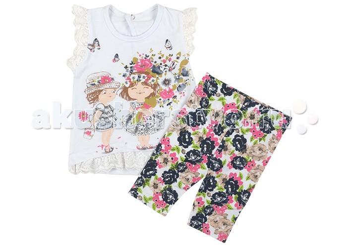 Комплекты детской одежды Estella Комплект Букет для девочки футболка для девочки без рукава barkito букет белая