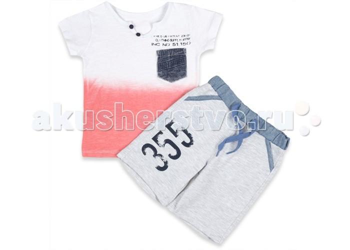 Комплекты детской одежды Estella Комплект (шорты и футболка) для мальчика 339 комплекты детской одежды rodeng комплект для мальчика r1138