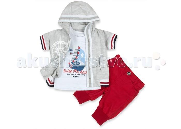 Комплекты детской одежды Estella Комплект Кораблик 3 предмета для мальчика, Комплекты детской одежды - артикул:325464