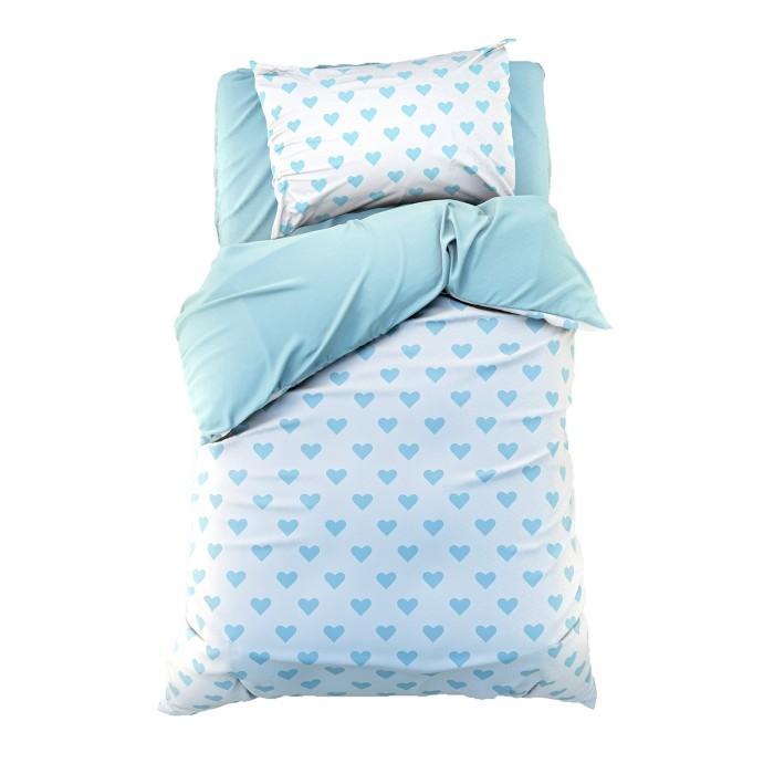 постельное белье 1 5 спальное Постельное белье 1.5-спальное Этель 1.5 спальное Сердечки (3 предмета)