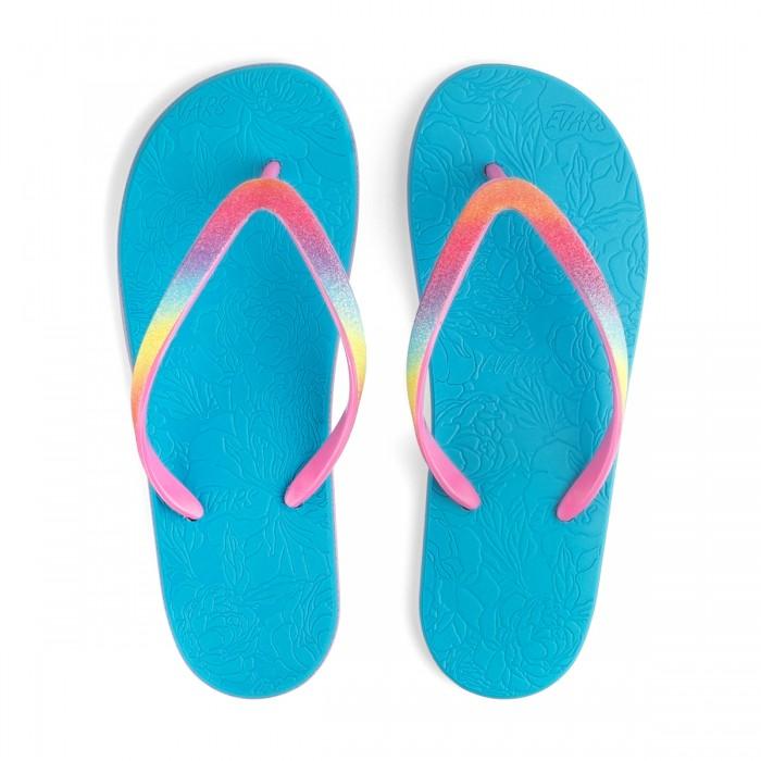 Пляжная обувь Evars Сланцы для девочек Fresque Peony сланцы evars evars mp002xw1iohl
