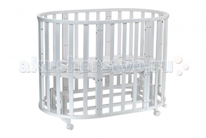 Купить Кроватки-трансформеры, Кроватка-трансформер Everflo Botticelli 7 в 1 с маятником