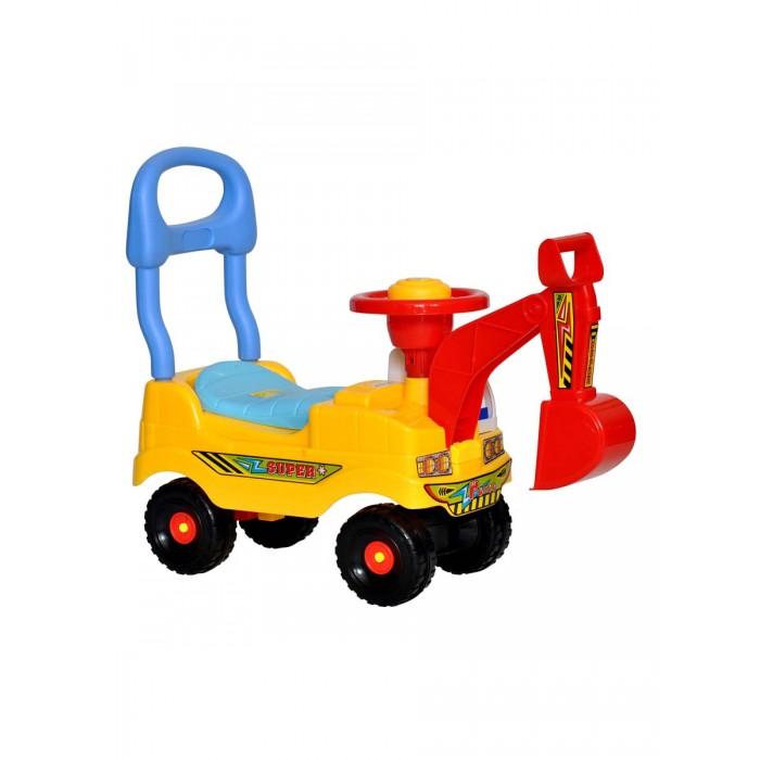 Детский транспорт , Каталки Everflo музыкальная Машинка Экскаватор арт: 534561 -  Каталки