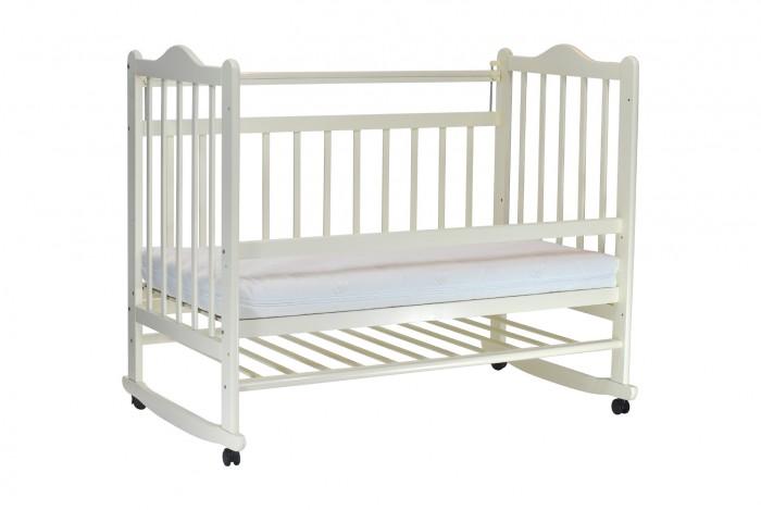 Детская кроватка Everflo Pali ES-001Pali ES-001Детская кроватка Everflo Pali ES-001 исполнена в классическом стиле и  используется в двух режимах: кроватка-качалка или кроватка на колесах.  Особенности: Для этого достаточно просто снять или поставить колеса. Роликовые опоры помогут легко перемещать кроватку на нужное место, а укачивающий механизм подарит малышу по-настоящему сладкий сон Опускающаяся боковая спинка кроватки - ещё одна удобная опция, поможет маме с лёгкостью положить сонного малыша в кроватку Зубки малыша защитит силиконовая накладка Подматрасник кровати выполнен в виде ортопедической сетки из неокрашенного бука и устанавливается в двух положениях по высоте Кроватка имеет опору в форме дуги, которая фиксируется колесами Кроватку Everflo Pali  ES-001 характеризует высокое качество обработки массива березы. А также высококачественные краски и лаки. Кроватка отлично комплектуется матрасами Everflo   Регулировка спального места по высоте в 2 положениях Опускающаяся передняя стенка  Колеса со стопорами – 4 прорезиненных поворотных колеса.<br>
