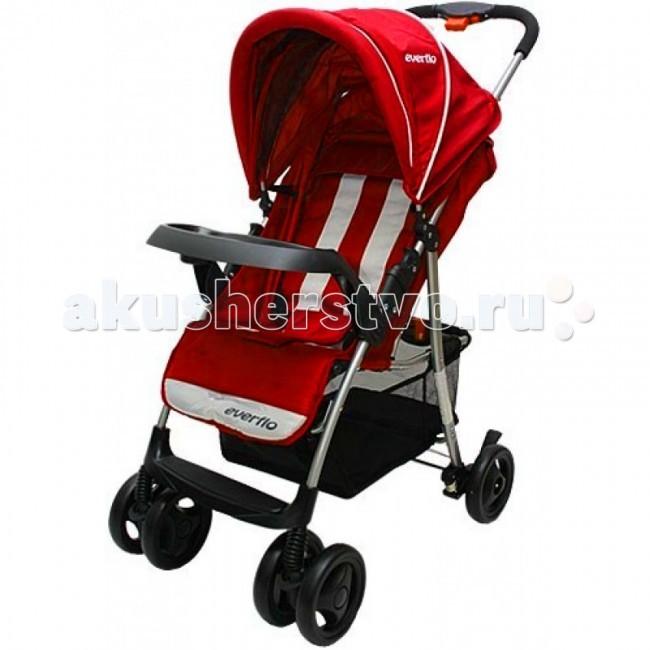 Прогулочная коляска Everflo Е-210Е-210Прогулочная коляска Everflo Е-210. Одна из самых практичных и функциональных моделей детских колясок прогулочного типа, которая подарит непревзойденный комфорт малышу и удобство родителям. Коляска Everflo Е-210 производится из качественных материалов.  Модель имеет выдержанный лаконичный дизайн. Рама коляски металлическая, установлена на прочные колесики, задняя пара колес снабжена стопором, передняя – поворотная. При этом передняя пара колес для повышения прочности Everflo Е-210 еще и сдвоенная.  Особенности: Большой капюшон с козырьком дополнен накидкой на ножки, которые позволяют защитить малыша от любой непогоды Сидение в Everflo Е-210 имеет регулируемую спинку и подножку, раскрываясь до горизонтального положения Модель очень легко управляется за счет прочной эргономичной ручки Большая корзина для покупок – еще одно достоинство Everflo Е-210.  В комплекте: поднос для малыша, подстаканник, солнцезащитный козырек, накидка на ноги.  Вес: 7.8 кг<br>