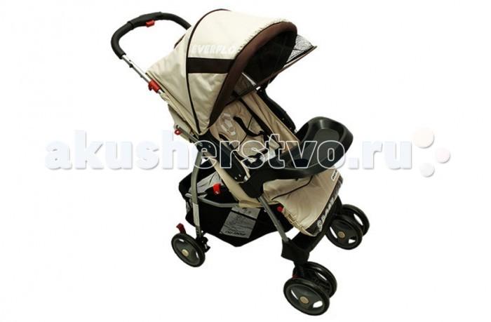 Прогулочная коляска Everflo E-220 NewE-220 NewПрогулочная коляска Everflo E-220 New - отличный выбор современных родителей! Спинка посадочного места может раскладываться до положения лежа.Ремни безопасности 5-ти точечные, с мягкими накладками. Вместительная корзина для покупок.   Прогулочные коляски Everflo предназначены для малышей в возрасте от 6 месяцев до 3-х лет. Механизм амортизации пружинный. Коляска Everflo Е-220 New легко складываются с ручки и запросто умещаются в багажнике автомобиля. Механизм складывания: книжка. Модели этой марки отлично подходят для прогулки с ребенком с ранней весны до поздней осени. В них предусмотрен капюшон, который защищает ребенка от ветра и солнца, обеспечивает ему комфорт во время сна. Колеса изготовлены из износоустойчивого пластика. Задняя пара колес снабжена стопором, передняя – поворотная. При этом передняя пара колес для повышения прочности сдвоенная. Диаметр колес 17 см. Легкая, но в то же время очень прочная и износостойкая металлическая рама.<br>