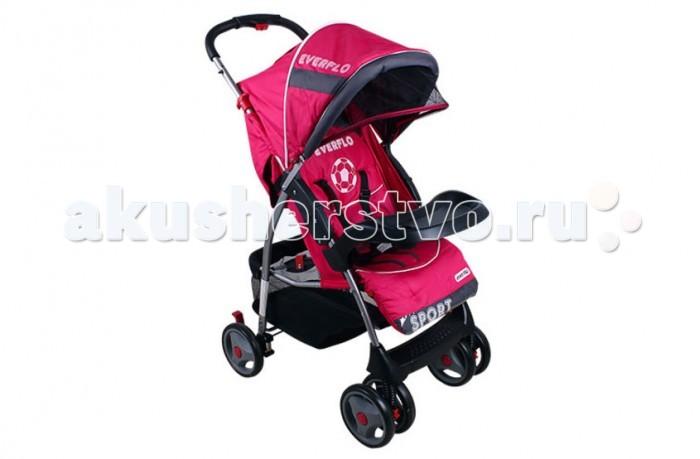 Прогулочная коляска Everflo E-220 NewE-220 NewПрогулочная коляска Everflo E-220 New - отличный выбор современных родителей! Спинка посадочного места может раскладываться до положения лежа.Ремни безопасности 5-ти точечные, с мягкими накладками. Вместительная корзина для покупок.   Прогулочные коляски Everflo предназначены для малышей в возрасте от 6 месяцев до 3-х лет. Механизм амортизации пружинный. Коляска Everflo Е-220 New легко складываются с ручки и запросто умещаются в багажнике автомобиля. Механизм складывания: книжка.  Модели этой марки отлично подходят для прогулки с ребенком с ранней весны до поздней осени. В них предусмотрен капюшон, который защищает ребенка от ветра и солнца, обеспечивает ему комфорт во время сна. Колеса изготовлены из износоустойчивого пластика.  Задняя пара колес снабжена стопором, передняя – поворотная. При этом передняя пара колес для повышения прочности сдвоенная. Легкая, но в то же время очень прочная и износостойкая металлическая рама.<br>