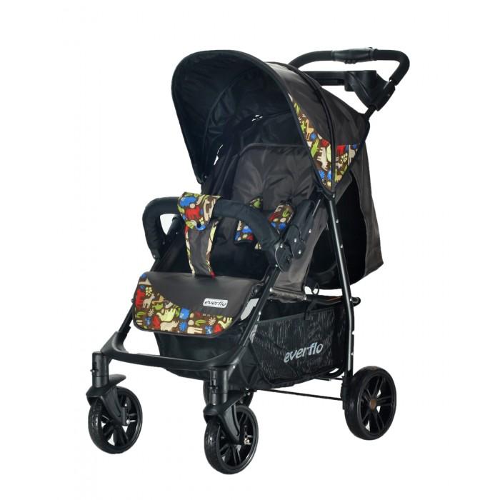 Прогулочная коляска Everflo Е-230 LuxeЕ-230 LuxeКоляска прогулочная Everflo Е-230 Luxe – разработка, учитывающая все потребности детей и родителей!  Все родители, желающие получить универсальную и максимально практичную коляску для прогулок, должны обратить внимание на практичную и при этом бюджетную модель Everflo Е-230 Luxe. Ее разработчики побеспокоились, чтобы ребенку в коляске было предельно комфортно.  Особенности:: Ремни у коляски – пятиточечные, с очень мягкими, достаточно широкими накладками. Они не причинят чаду ни малейшего дискомфорта. У спинки имеется целых четыре положения: горизонтальное, для сна, чуть приподнятое, для сна в положении полулежа, приподнятое и полностью вертикальное, для прогулки сидя. Диаметр у передних и задних колес разный, это дает коляске отличную проходимость, в городе и за городом. Сложить коляску можно легко и без усилий, одним движением. Козырек может опускаться до самого бампера, надежно защищая сидящего в коляске кроху от дождя и ветра. В сложенном виде изделие удивительно компактно, помещается в багажник даже самого небольшого авто.  Вес - 8.3 кг. Габариты прогулочного блока - 34х78 см.<br>