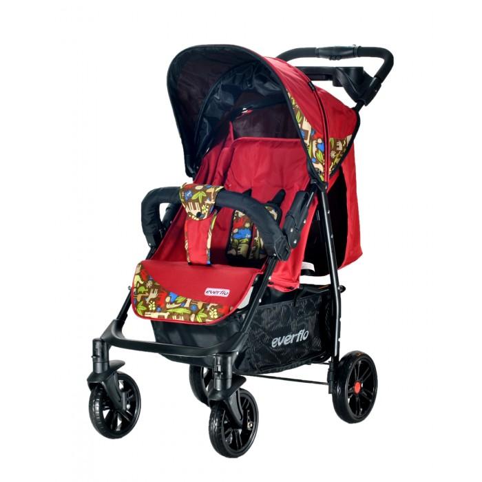 Прогулочная коляска Everflo Е-230 LuxeЕ-230 LuxeКоляска прогулочная Everflo Е-230 Luxe – разработка, учитывающая все потребности детей и родителей!  Все родители, желающие получить универсальную и максимально практичную коляску для прогулок, должны обратить внимание на практичную и при этом бюджетную модель Everflo Е-230 Luxe. Ее разработчики побеспокоились, чтобы ребенку в коляске было предельно комфортно.  Достоинства прогулочной коляски Everflo Е-230 Luxe: Ремни у коляски – пятиточечные, с очень мягкими, достаточно широкими накладками. Они не причинят чаду ни малейшего дискомфорта. У спинки имеется целых четыре положения: горизонтальное, для сна, чуть приподнятое, для сна в положении полулежа, приподнятое и полностью вертикальное, для прогулки сидя. Диаметр у передних и задних колес разный, это дает коляске отличную проходимость, в городе и за городом. Сложить коляску можно легко и без усилий, одним движением. Козырек может опускаться до самого бампера, надежно защищая сидящего в коляске кроху от дождя и ветра. В сложенном виде изделие удивительно компактно, помещается в багажник даже самого небольшого авто.  Вес - 8.3 кг. Габариты прогулочного блока - 34х78 см. Диаметр передних колес - 18 см, задних - 20 см.<br>