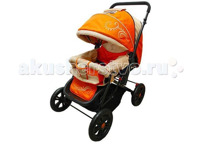Прогулочная коляска Everflo Е-400 LuxeЕ-400 LuxeПрогулочная коляска Everflo Е-400 Luxe выполнена в элегантном дизайне с учетом прогрессивных материалов и технологий – это гарантия безопасности и комфорта вашего малыша.  Особенности: Имеет удобный механизм складывания 4 больших колеса обеспечивают высокую проходимость модели Ручка в коляске регулируется по высоте и является перекидной, так что малыш может ехать лицом по ходу движения или развернутым к маме Между колесами установлена корзина для покупок В данной модели предусмотрен ручной тормоз В прогулочном варианте безопасность маленького пассажира обеспечивается ремнями и перекладиной Положение спинки сидения можно изменять от вертикального до горизонтального Капюшон надежно защитит ребенка от солнца и дождя. В верхней его части расположено окошко, через которое мама всегда сможет увидеть, чем занят ее кроха В холодную погоду ваш ребенок будет чувствовать себя на прогулке комфортно благодаря теплой накидке на ножки Коляска очень просторная, имеет современный дизайн и выполнена с соблюдением всех норм безопасности и качества  Вес 7 кг<br>