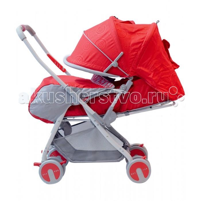 Прогулочная коляска Everflo MyLove 229BMyLove 229BПрогулочная коляска Everflo MyLove 229B. Гулять с детками педиатры рекомендуют буквально с первых дней жизни. И если в первые месяцы для этого потребует габаритная система, то для прогулок с ребенком от полугода отлично подойдет MyLove 229B.   С ней любая прогулка принесет удовольствие и маме, и самому крохе. Главное преимущество модели – это возможность ее быстрой, простой трансформации, из коляски прогулочной в удобное спальное место. Но это – далеко не все ее преимущества.  Особенности: Коляска надежна, прочна и маневренна, легко едет по любому дорожному покрытию. Ее перекидная родительская ручка оснащена дополнительным фиксатором. От солнца и дождя малыша, лежащего в люльке, отлично защищает достаточно большой капюшон, опустить его можно до самого бампера. Ножки ребенка прикрываются накидкой, от комариных «атак» малыша защитит москитная сетка; Предметный столик-бампер коляски снимается. В сложенном виде изделие предельно компактно, занимает минимум места. Имеющийся ремень безопасности является 3-точечным, а это гарантирует идеальную фиксацию для ребенка, и его полную безопасность.  Размеры спального места (Д х Ш): 83 х 35 см Габариты: 108 х 43 х 44<br>