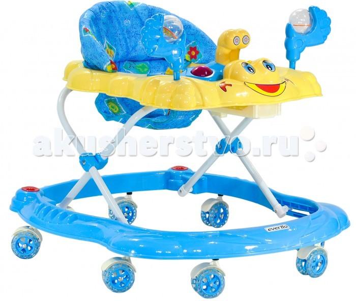 Детская мебель , Ходунки Everflo Счастливый краб WT412 арт: 51990 -  Ходунки
