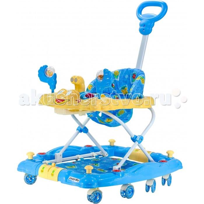 Детская мебель , Ходунки Everflo Счастливый краб 3 в 1 WT414 арт: 275026 -  Ходунки