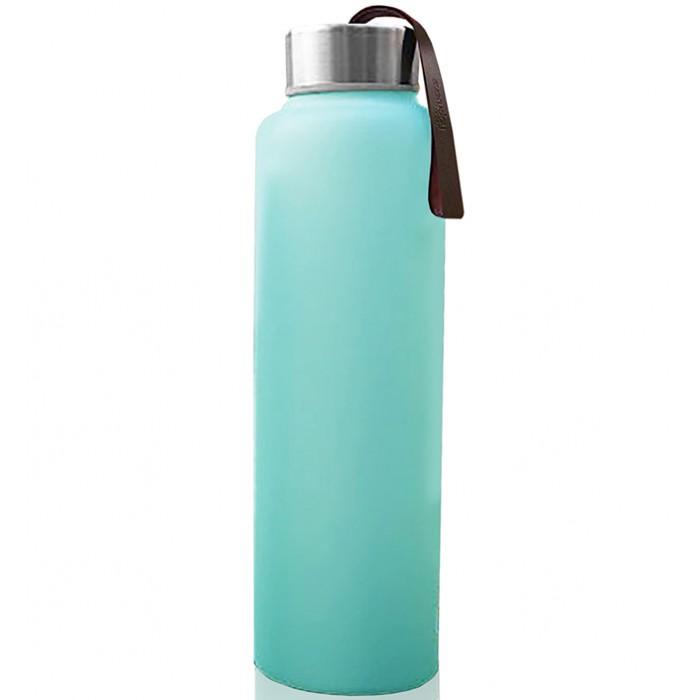Бутылки для воды Everyday Baby Стеклянная для воды с защитным силиконовым покрытием 400 мл