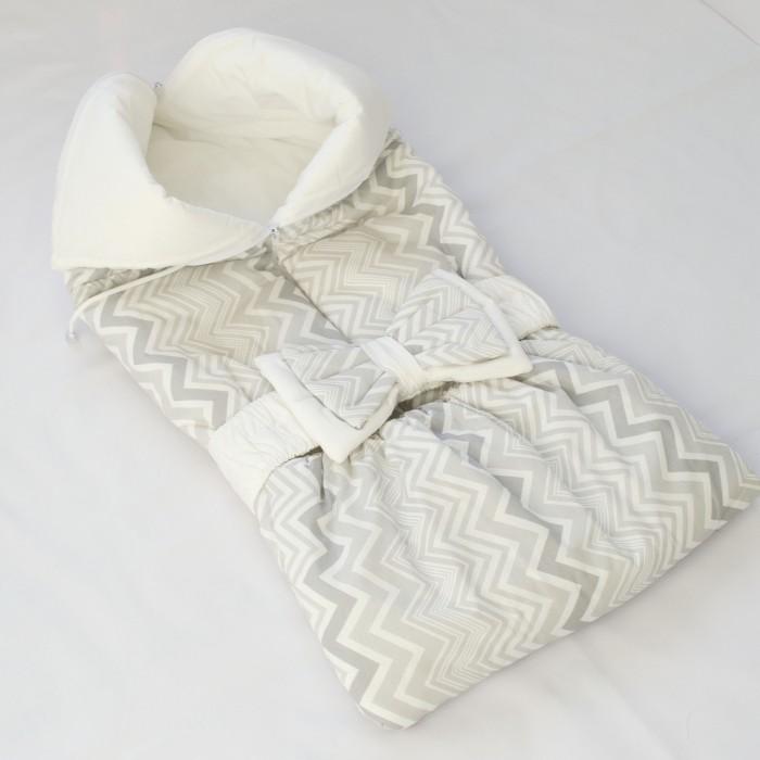 Евгения Весна Одеяло-трансформер ЗигзагКонверты на выписку<br>Евгения Весна Одеяло-трансформер Зигзаг с бантом на резинке.  Легкое и удобное, нарядное и практичное, одеяло-трансформер отлично подойдёт для выписки из роддома. Примерно до трёх месяцев вы сможете использовать одеяло-трансформер на прогулку как конверт в коляску и дома в качестве спального мешка. Упаковать малыша в одеяло-трансформер проще простого: достаточно лишь застегнуть одну молнию. А когда малыш подрастет, одеяло может стать тёплой накидкой на ножки или уютным ковриком для игр.  Размер: до 3 мес, рост 60-62, идеально для выписки и прогулок в первые месяцы, в развернутом виде 75 х 75 см  Сезон: ранняя весна