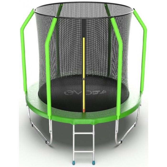 Детские батуты EVO Jump Батут Cosmo с внутренней сеткой и лестницей 6ft