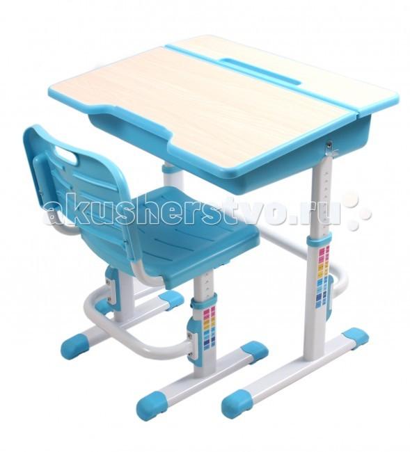 Детская мебель , Столы и стулья EvoLife Комплект стол+стул трансформер Study 2 арт: 30020 -  Столы и стулья