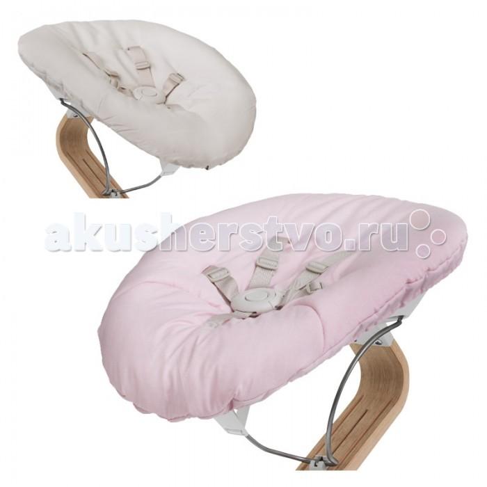 Evomove Кресло-шезлонг Nomi Baby для основания стулаКресло-шезлонг Nomi Baby для основания стулаКресло-шезлонг Nomi Baby устанавливается на основание стула Evomove Nomi.  Новорожденные как никто нуждаются в безопасности и непрестанной опеке. В кресле-шезлонге Nomi Baby ребенок будет на уровне ваших глаз — вы и ваш младенец сможете наблюдать за всем происходящим.  Кресло-шезлонг Nomi Baby позволяет малышу быть за столом вместе с вами, и с самого раннего возраста он будет вовлечен в семейную жизнь за обеденным столом или на кухне.  Идеальное положение ребенка и хорошую поддержку обеспечивают мягкая ткань и конструкция кресла-шезлонга, благодаря чему ребенку также очень комфортно лежать.  Кресло-шезлонг Nomi Baby комплектуется двусторонним мягким матрасиком с разными принтами с каждой стороны.  Состав: высококачественный перерабатываемый пластик без фталатов и парабенов и матрасик из 100% хлопка  Кресло-шезлонг как опция включает в себя каркас кресла-шезлонга и матрасик на выбор по цвету. Сам стул (основание шезлонга на фото) приобретается отдельно!<br>