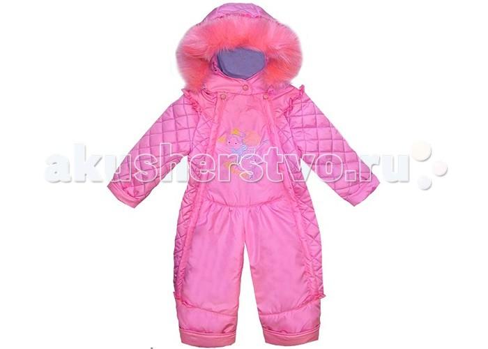 Детская одежда , Утепленные комбинезоны и комплекты Эврика Комбинезон для девочки Фея арт: 368948 -  Утепленные комбинезоны и комплекты