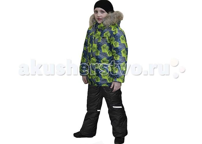 Детская одежда , Утепленные комбинезоны и комплекты Эврика Комплект для мальчика Многоугольник арт: 369818 -  Утепленные комбинезоны и комплекты