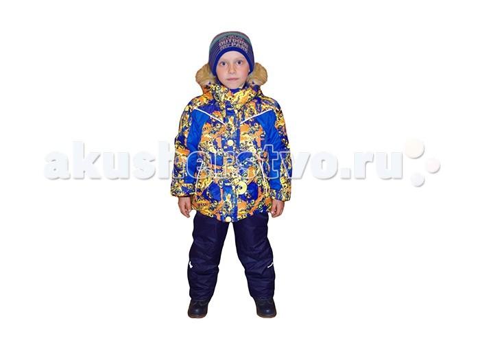Эврика Комплект для мальчика УзорыКомплект для мальчика УзорыЭврика Комплект для мальчика Узоры  Комплект (куртка+полукомбинезон) для мальчика зимний прекрасный вариант для холодной погоды. Температурный режим до -40 С.  Расположение застежки - молнии позволит легко снимать и одевать данное изделие.   Состав:  - Материал верха: Membrane 3000/3000 - 100% полиэстер.   - Утеплитель: Termofinn 300 гр - 100% полиэстер.  - Подкладка: Флис - 100% полиэстер.  - Опушка съемная: мех искусственный.  Уход: Автоматическая стирка до 30°<br>