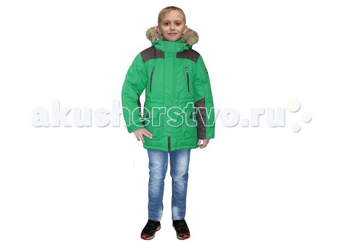 Детская одежда , Куртки, пальто, пуховики Эврика Парка для мальчика М-674 арт: 370053 -  Куртки, пальто, пуховики