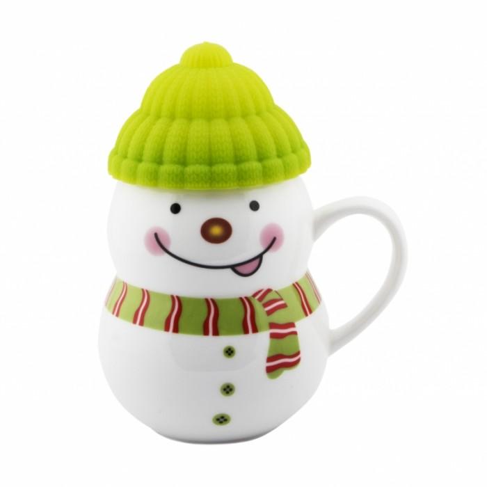 Эврика подарки и удивительные вещи Кружка-снеговик Растопи лёд 300 мл 96952 - Акушерство.Ru