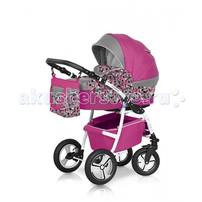 Коляска-люлька Expander LuminaLuminaКоляска Expander Lumina предназначена для детей с рождения и до 3-х лет. Стильные расцветки материала с добавлением орнаментных тканей.     В комплект коляски входит спальная люлька для новорожденного и прогулочный блок для подросшего малыша, которые можно устанавливать по ходу движения или против хода движения. Люлька коляски  комфортная и удобная, сделана внутри из 100 % хлопка. Дно люльки – жесткое, это очень важно для правильного формирования позвоночника новорожденного малыша.   Прогулочное сидение легко устанавливается на раму, имеет пятиточечные ремни безопасности, съемный бампер, регулируемое положение спинки. Для удобства родителей предусмотрены регулировка высоты ручки, корзина для покупок и сумка для мамы.   Колеса надувные, камерные, с современной системой амортизации. Передние поворотные колеса с фиксатором делают эту модель коляски маневренной и легкоуправляемой. Задние колеса, обеспечивают хорошую проходимость и позволяют преодолевать любые препятствия по бездорожью на прогуле.   Размеры внутренние люльки:  длина 76 см.  ширина 37 см.  высота 20 см.  вес: 4,73 кг.  Размеры прогулочного блока:  ширина 36 см.  длина  84 см.  вес: 4,3 кг.  Вес рамы: 8,2 кг.  Вес рамы + люлька: 12,9 кг.  Вес рамы + прогулочный блок: 12,5 кг.  Диаметр передних колес: 24 см.  Диаметр задних колес: 30 см.  Ширина колесной базы: 60 см.  Размер коляски в разложенном виде (ШхДхВ): 60х98х125 см.  Диапазон регулировки ручки по высоте: 77-116 см от пола.<br>