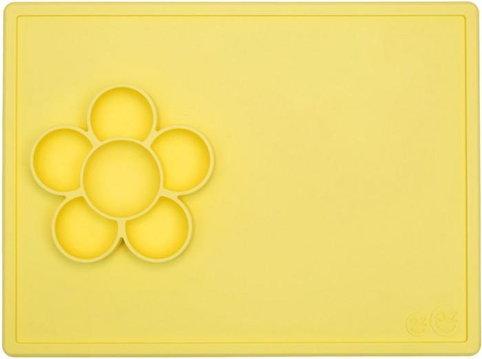 Посуда Ezpz Низкая тарелка-цветочек Play Mat
