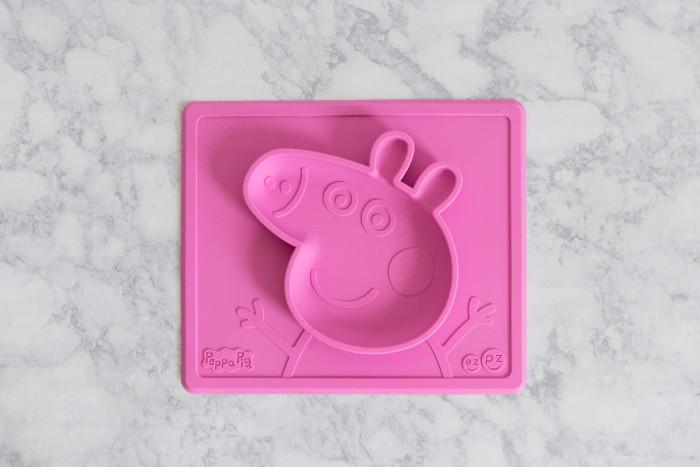 Купить Посуда, Ezpz Тарелка с подставкой Peppa Pig Mat