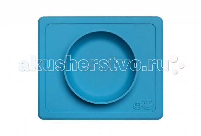 Посуда Ezpz Тарелка с подставкой силиконовая Mini Bowl, Посуда - артикул:537316