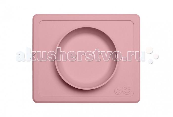 Аксессуары для кормления , Посуда Ezpz Тарелка с подставкой силиконовая Mini Bowl арт: 537316 -  Посуда