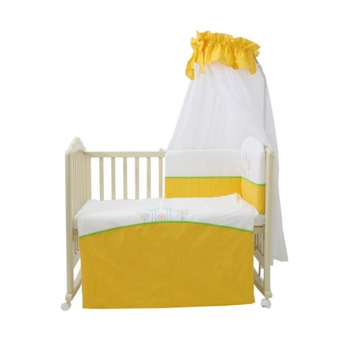 Комплекты в кроватку Fairy Волшебная полянка (7 предметов) электроодеяло gess матрас с подогревом blanket 145 см х 185 см