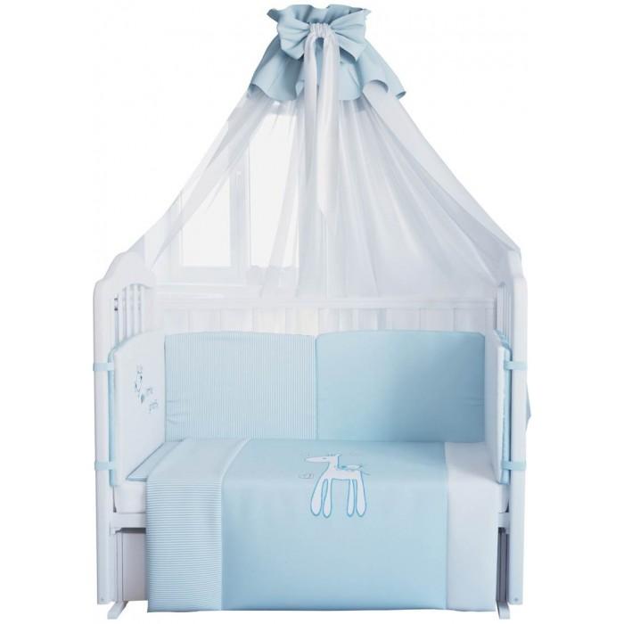 Комплект в кроватку Fairy Жирафик 120х60 (7 предметов)