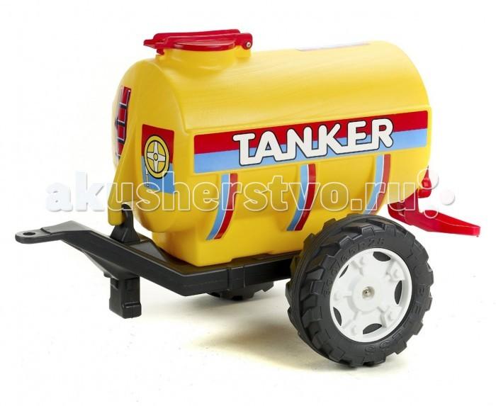 Falk Цистерна-танкер 2 колеса 83 смЦистерна-танкер 2 колеса 83 смFalk Цистерна-танкер 2 колеса 83 см станет отличным дополнением к тракторам компании Falk, она очень похожа на настоящую и ребенок может представлять, что перевозит бензин или воду. В нее можно по-настоящему залить жидкость через верхнее отверстие, и при необходимости слить ее через нижний клапан.<br>
