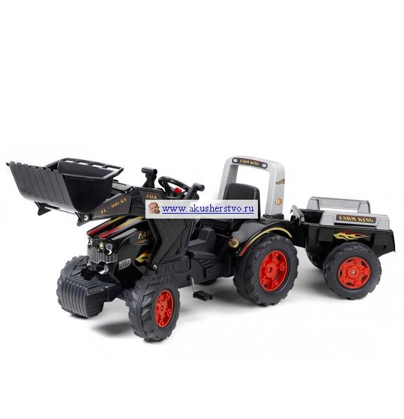 Falk Трактор-экскаватор с прицепом 1075М