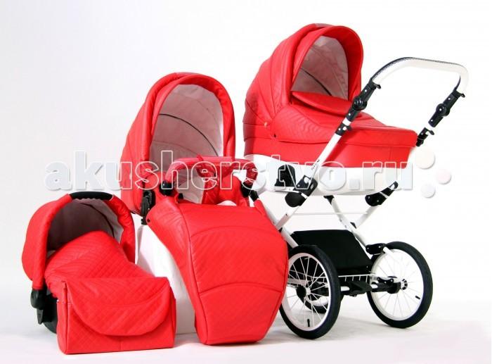 Детские коляски , Коляски 3 в 1 Farfello Fly-Line 3 в 1 (экокожа) арт: 36464 -  Коляски 3 в 1