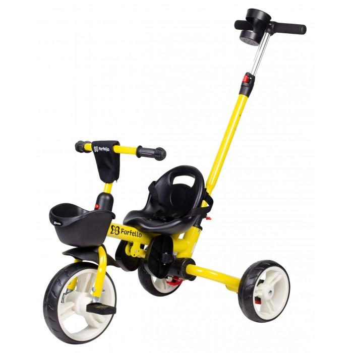 Купить Трехколесные велосипеды, Велосипед трехколесный Farfello с родительской ручкой S-1601