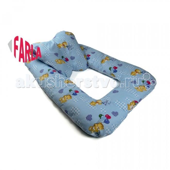 Постельные принадлежности , Позиционеры для сна Farla Подушка для новорожденных Milo арт: 114541 -  Позиционеры для сна